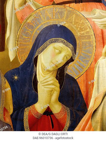 The Deposition from the Cross or the Altarpiece of the Holy Trinity, ca 1432, by Giovanni da Fiesole known as Fra Angelico (1400-ca 1455), tempera on wood