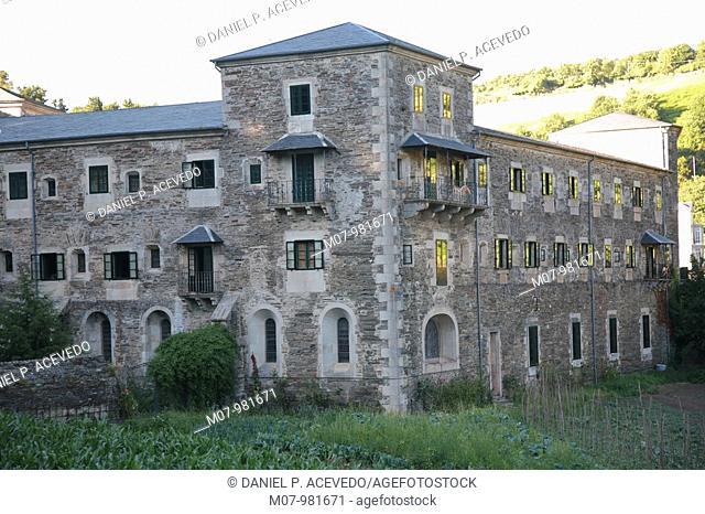 Samos Monasterio, Sarria, Lugo, Galicia, Spain, Europe