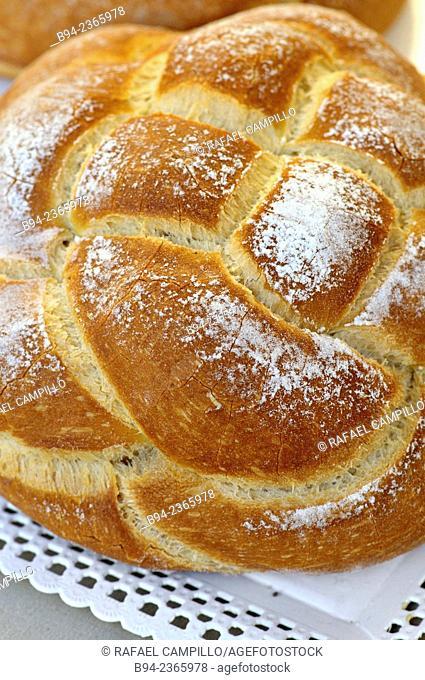 Bread. Viladrau, municipality in the comarca of Osona in Girona province, Catalonia, Spain