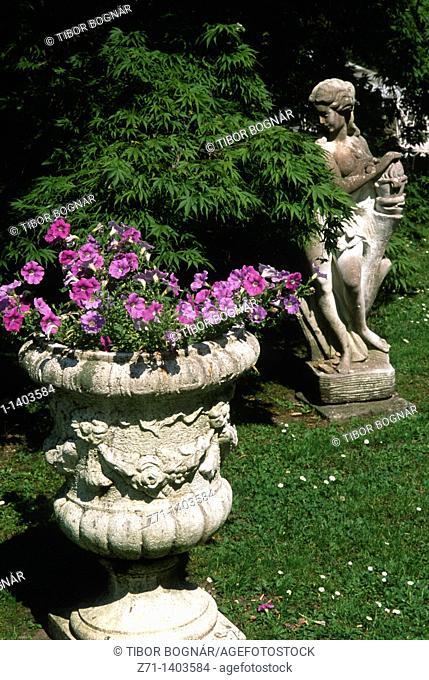 Italy, Piedmont, Stresa, park, garden
