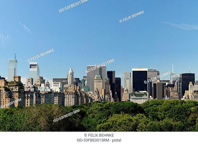 Urban park in New York City