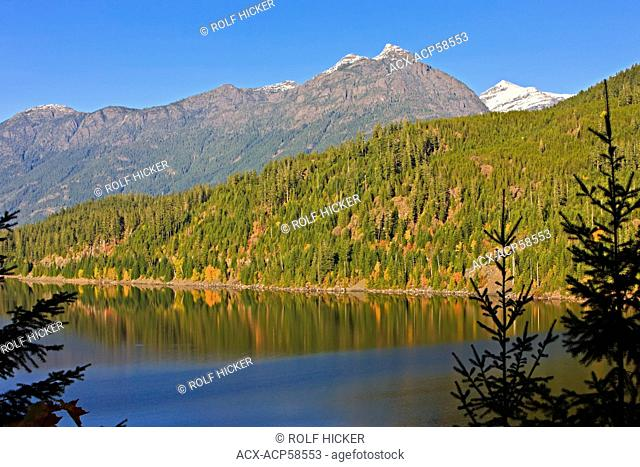 Strathcona-Westmin Provincial Park, Buttle Lake, Vancouver Island, British Columbia, Canada