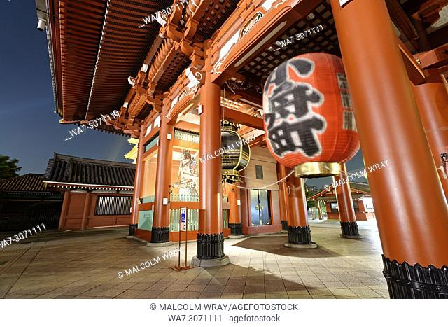 Senso-ji, Buddhist temple, Asakusa, Tokyo, Japan