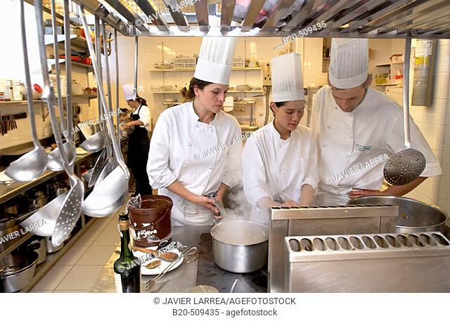 Cuisine School Luis Irizar. Donostia-San Sebastian, Gipuzkoa. Euskadi. Spain