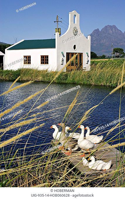 Le Manoir de Brendel, 5 Star guest house in Franschhoek, South Africa's Winelands of the Cape