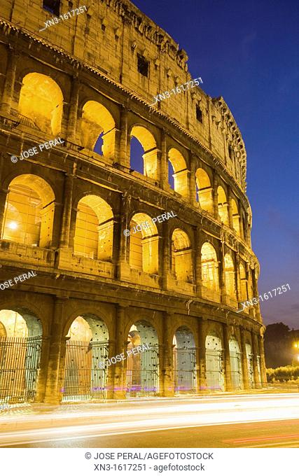 The Colosseum, Rome, Lazio, Italy