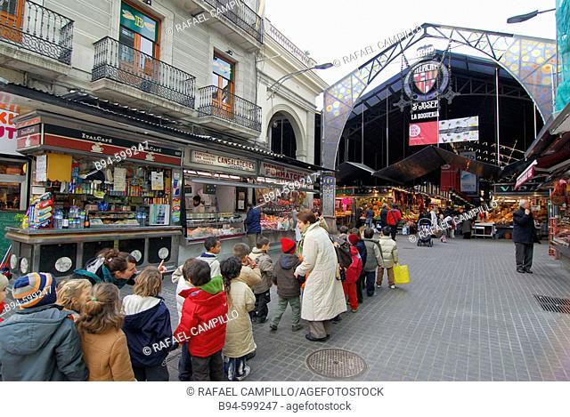 La Boquería market. Barcelona. Spain