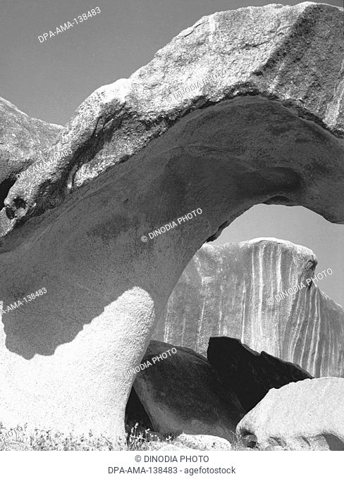 Rocks at Idar ; Gujarat and around Hyderabad ; Andhra Pradesh ; India