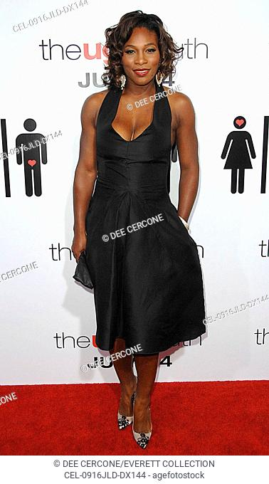 3969d7c49 Serena Williams at arrivals for THE UGLY TRUTH Premiere, Pacific's Cinerama  Dome, Los Angeles