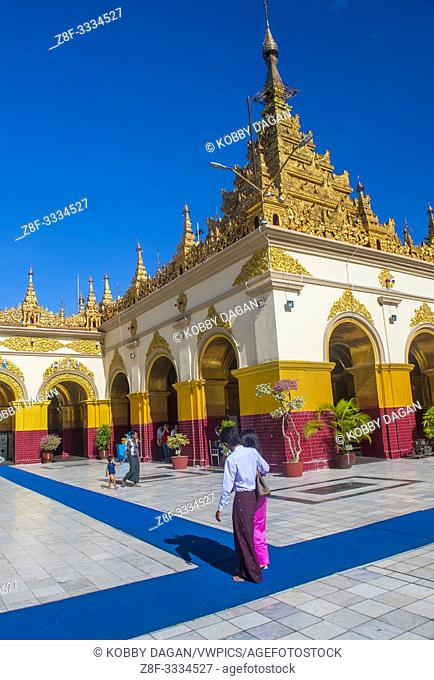 Mahamuni Pagoda in Mandalay, Myanmar