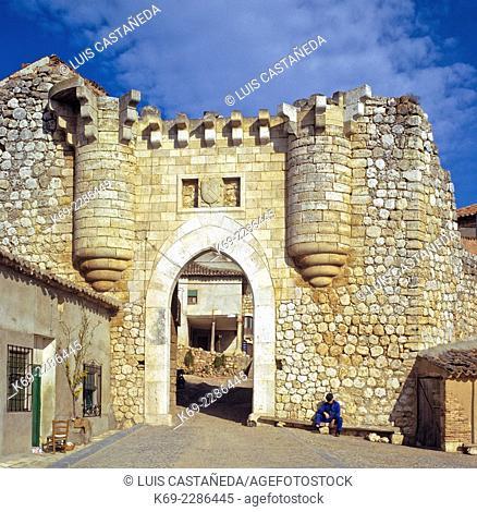 Old Castillian Town Gate. Hita (Guadalajara) Spain
