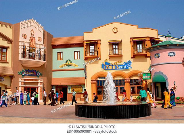 Ramoji film city , Hyderabad , Andhra Pradesh , India