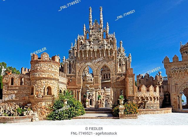 Castillo Colomares, Benalmádena, Andalusia, Spain