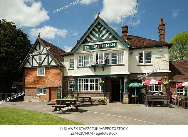 Country pub in Horsted Keynes, West Sussex, England