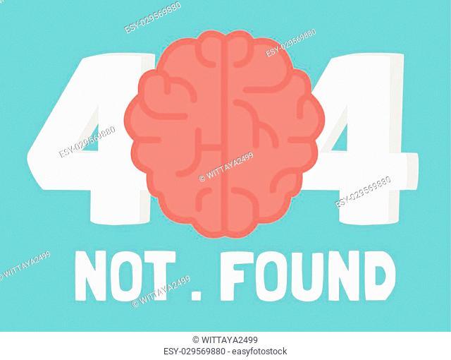 Page not 404 brain error