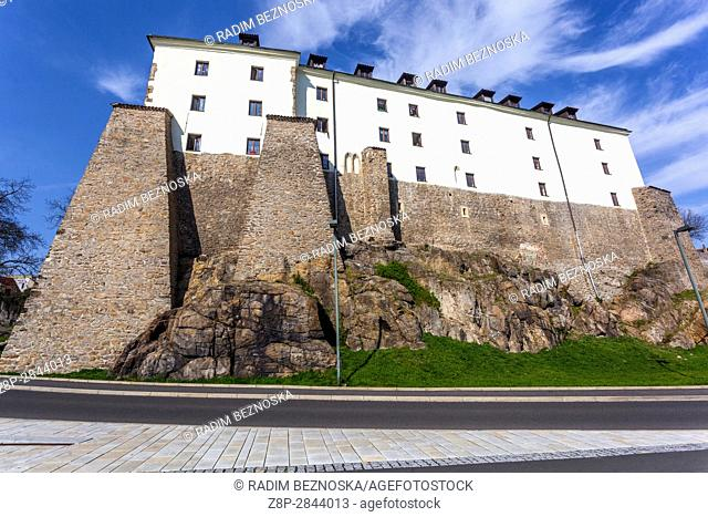 Gothic Castle, Kadan, Northern Bohemia, Czech Republic, Europe