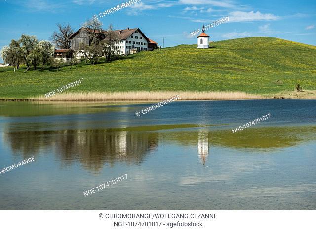 Hergtatsrieder Lake in Bavaria