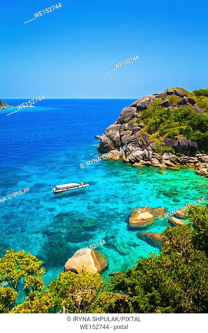 Ko Similan Island, Similan Islands, Andaman Sea, Thailand