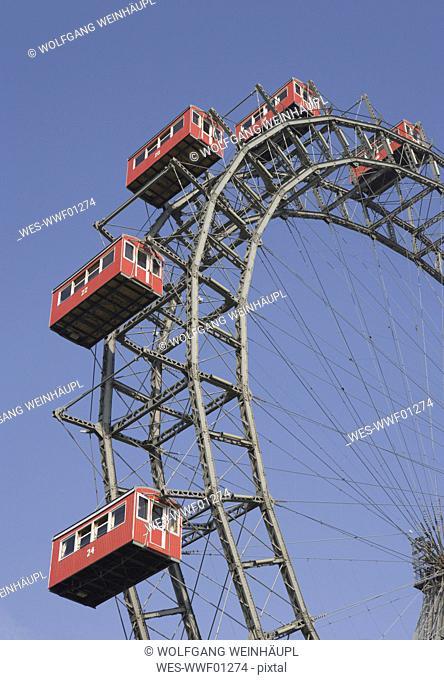 Austria, Vienna, Ferris wheel in prater park