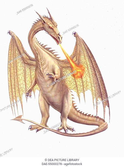 Mythology - Fanciful animals - Dragon - Art work