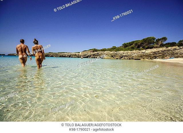 Cala Talaier, Ciutadella, Menorca, Balearic Islands, Spain, Europe