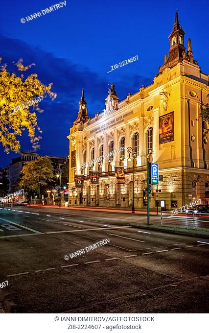 The Famous Theater Des Westens in Kantsrasse,Berlin,Charlottenburg,Germany