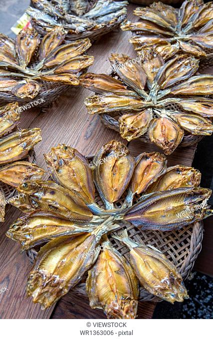 Drying of dried fish