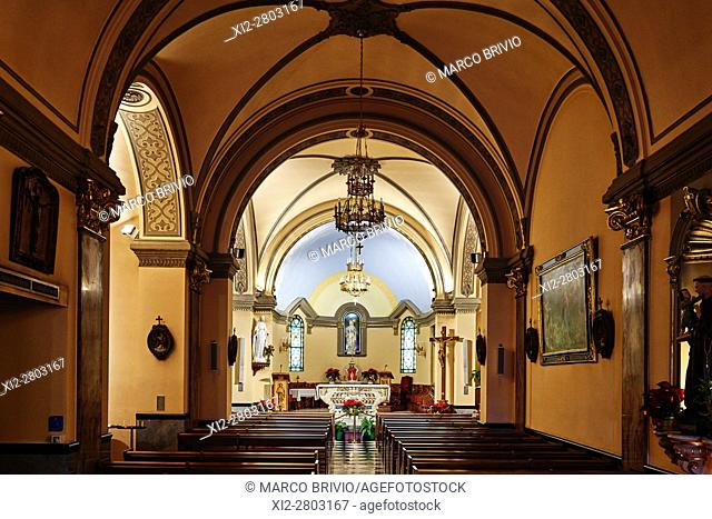 Montecarlo, Monaco Principality. The Sainte Devote Chapel is first mentioned about 1070, belonging to the abbey of Saint Pons