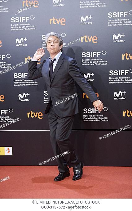 Ricardo Darin attended 'El amor menos pensado' Premiere during the 66th San Sebastian International Film Festival at Kursaal Palace on September 21