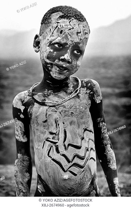 Ethiopian child, South Ethiopia