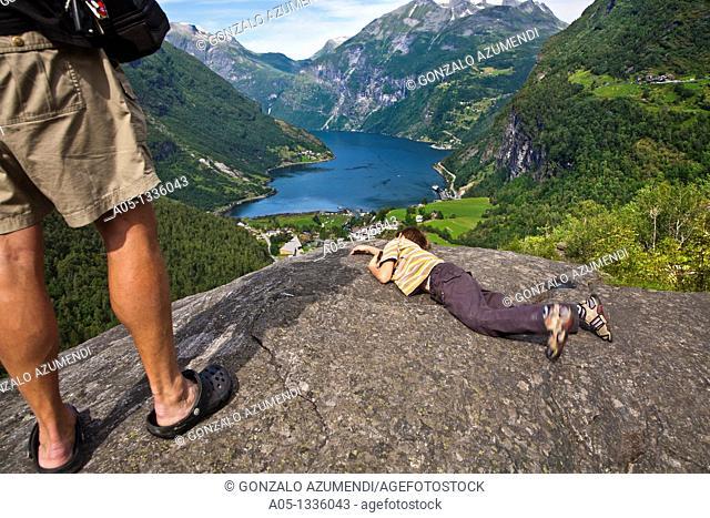 Geiranger Fjord More & Romsdal. Norway