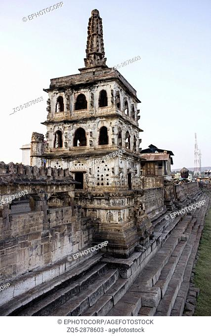 Watch tower , Banashankari Temple, Karnataka, India facade, Badami, Karnataka
