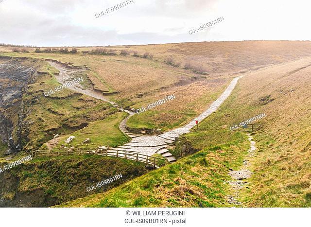 Bedruthan steps, Trenance, Cornwall, UK