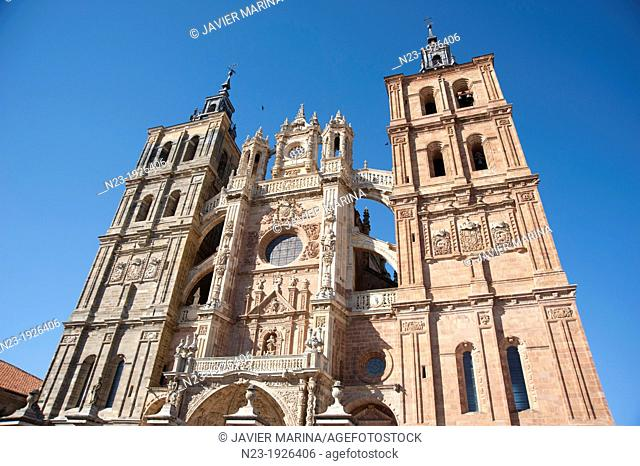 CATHEDRAL, Astorga, Leon, Spain