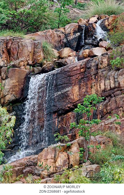 waterfall in katherine gorge northern territory