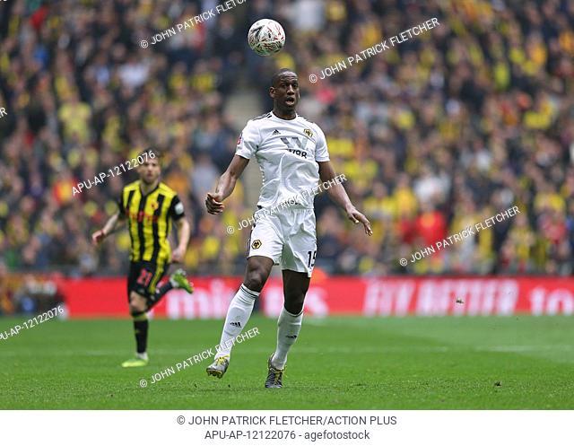 2019 FA Cup Football Semi Final Watford v Wolves Apr 7th. 7th 2019, Wembley Stadium, London England; The Emirates FA Cup, semi final