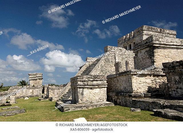 Mexico, Quintana Roo, Tulum, El Castillo