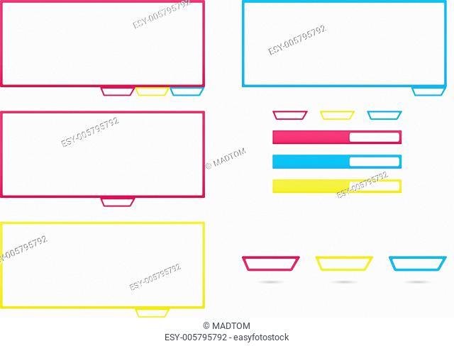 web elements templates