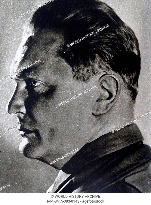 Hermann Wilhelm Göring 1893 – 1946; German politician, military leader, and leading member of the Nazi Party