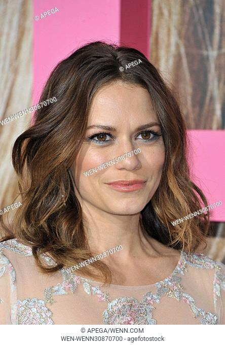 'Big Little Lies' HBO Series Premiere at TCL Chinese Theatre - Arrivals Featuring: Bethany Joy Lenz Where: Los Angeles, California