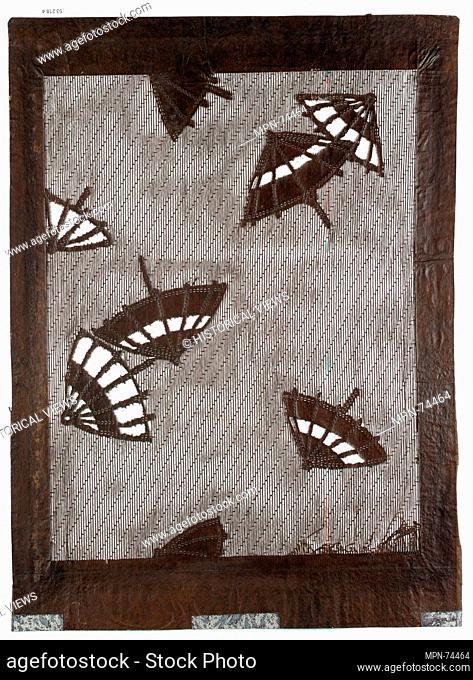 Stencil. Date: 19th century; Culture: Japan; Medium: Paper; Dimensions: 24 3/4 x 16 3/4 in. (62.87 x 42.55 cm); Classification: Stencils; Credit Line: Gift of...