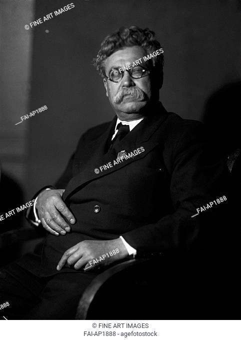 Yemelyan Mikhailovich Yaroslavsky (1878-1943). Anonymous . Photograph. Russian Academy of Sciences. Portrait