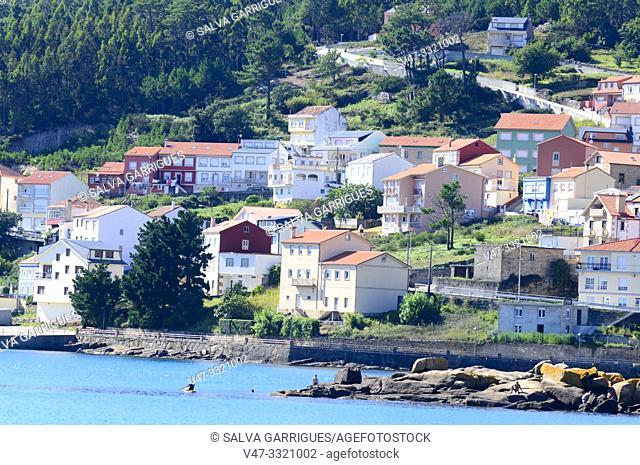 Beach of Ezaro, A Coruña, Galicia, Spain