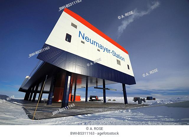 German Antarctic research station Neumayer 3, Antarctica