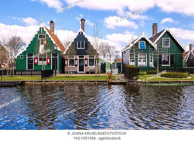 Zaanse Schans, Zaandam, North Holland, Netherlands