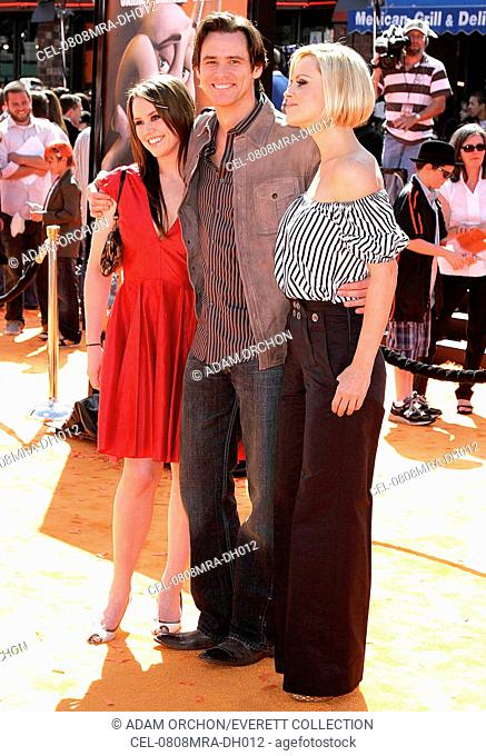 Jane Carrey, Jim Carrey, Jenny McCarthy at arrivals for HORTON HEARS A WHO! Premiere, Mann's Village Theatre in Westwood, Los Angeles, CA, March 08, 2008