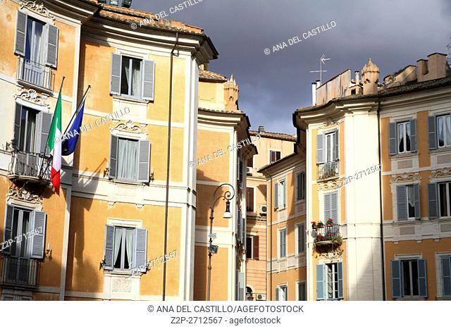 Rome, Italy St Ignazio square