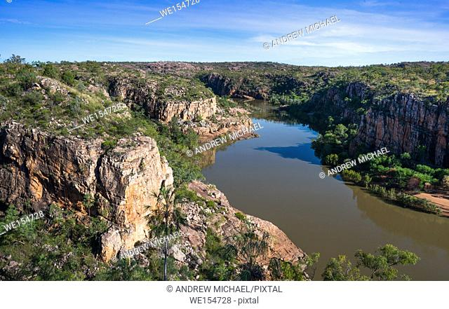 Australia, Northern Territory, Katherine. Nitmiluk (Katherine Gorge) National Park