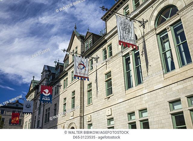 Canada, Quebec, Quebec City, Hotle de Ville, town hall