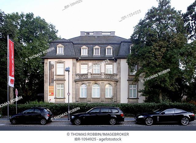 Museum der Weltkulturen, ethnological museum in former villas, Museum Embankment, Frankfurt, Hesse, Germany, Europe
